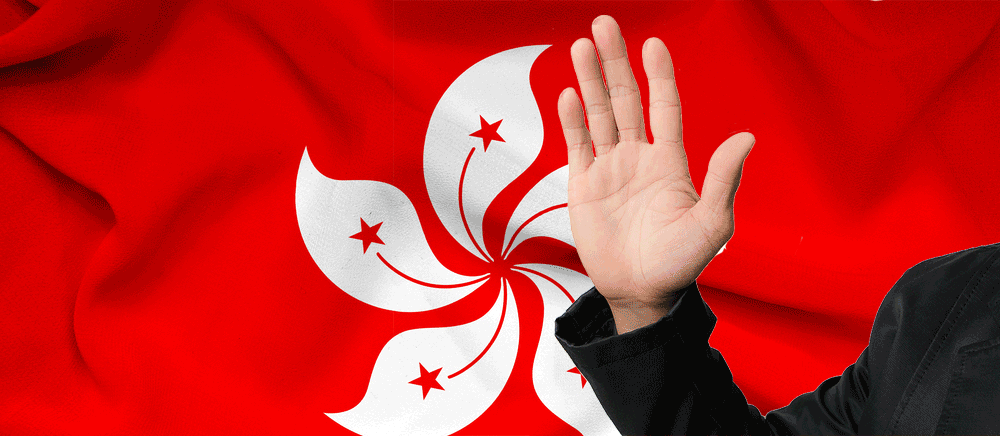 HK Flag and right had held for oath